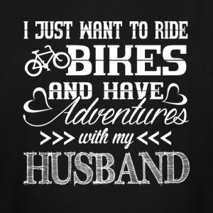 Ride Bikes With My Husband - Men's Tall T-Shirt