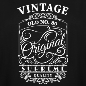 vintage old no 80 - Men's Tall T-Shirt