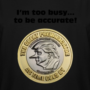 I'm too busy...to be accurate! - Men's Tall T-Shirt