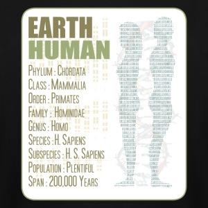 Earth Human - Men's Tall T-Shirt