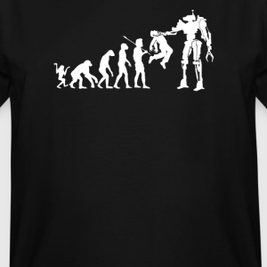 Robot to Cyber System - Men's Tall T-Shirt