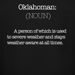 Oklahoman Definition - Men's Tall T-Shirt