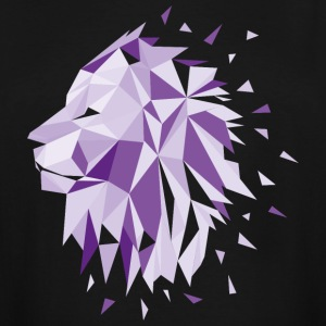 Lion Design Low Poly Geometric lion design - Men's Tall T-Shirt