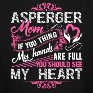 Asperger Mom Tee Shirt - Men's Tall T-Shirt