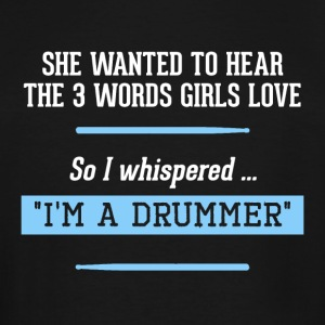 For all Drummers! - Men's Tall T-Shirt