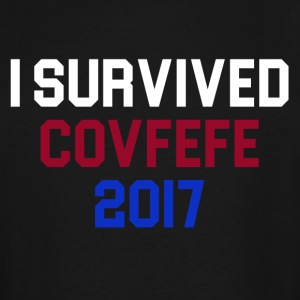 I Survived Covfefe 2017 - Men's Tall T-Shirt