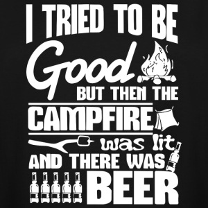 I Tried Be Good Beer Camping T Shirt - Men's Tall T-Shirt