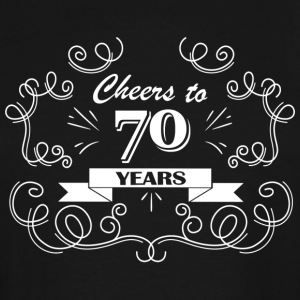 Cheers to 70 years - Men's Tall T-Shirt