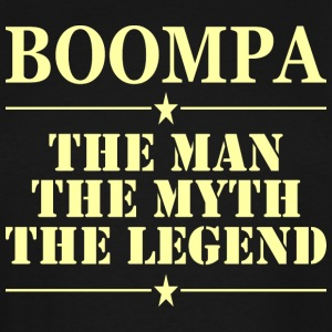 Boompa The Man The Myth The Legend - Men's Tall T-Shirt
