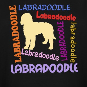Funny Labradoodle Shirt - Men's Tall T-Shirt