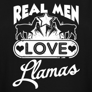 Llamas Tee Shirt - Men's Tall T-Shirt