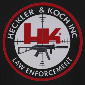 HK HECKLER & KOHC LOGO - Men's Tall T-Shirt