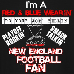 NEW ENGLAND FOOTBALL FAN - Men's Tall T-Shirt