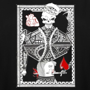 king of hearts - Men's Tall T-Shirt