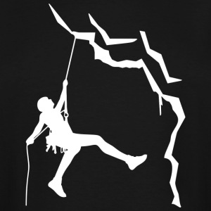 Climbing is my passion - Men's Tall T-Shirt