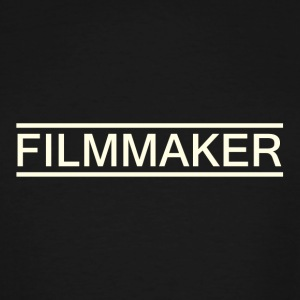 filmmaker white - Men's Tall T-Shirt