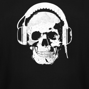 Headphones Skull Killer - Men's Tall T-Shirt