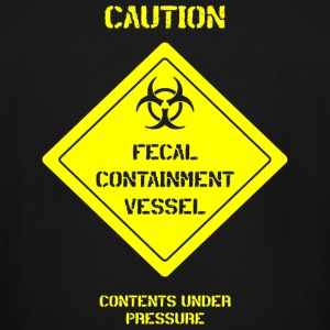 Fecal - fecal containment vessel - Men's Tall T-Shirt