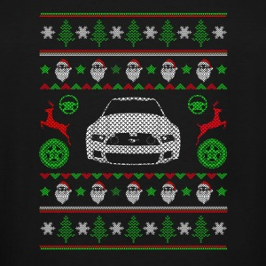 Ugly Christmas sweater for Minivan lover - Men's Tall T-Shirt