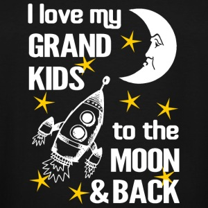 Grand Kid - I Love My Grand Kids To The Moon And - Men's Tall T-Shirt