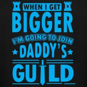 Daddy - When I get bigger I'm going to join dadd - Men's Tall T-Shirt