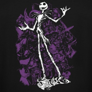 Nightmare before Christmas - Jack T-shirt - Men's Tall T-Shirt