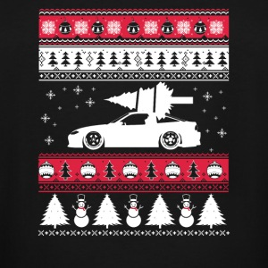 Ugly Christmas sweater for car lover - Men's Tall T-Shirt
