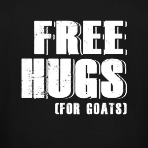 Goat - free hugs for goats - goat lover - Men's Tall T-Shirt