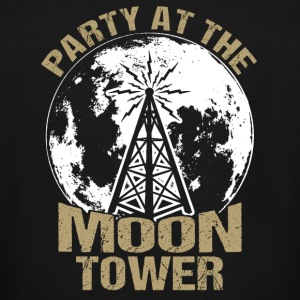 Dazed and Confused - Party at the moon tower - Men's Tall T-Shirt