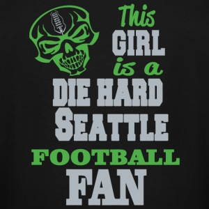 SEATTLE - THIS GIRL IS A DIE HARD SEATTLE FOOTBA - Men's Tall T-Shirt