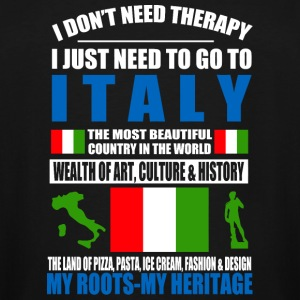 Italian - Italian - I Don't Need Therapy I Just - Men's Tall T-Shirt