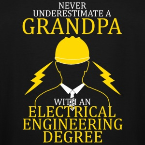 Electrical engineering - Grandpa electrical engi - Men's Tall T-Shirt