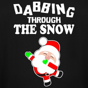 Christmas - Dabbing Through The Snow Shirt - Chr - Men's Tall T-Shirt