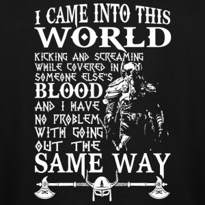 Viking - Viking T - I CAME INTO THE WORLD - Men's Tall T-Shirt