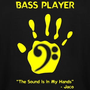 Bass Player - Bass Player -- - Men's Tall T-Shirt