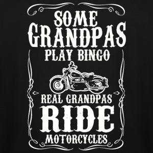 Motorcycle - Mens Some Grandpas Play Bingo. Real - Men's Tall T-Shirt