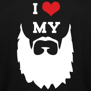 Mustache - I Love My Mustache - Men's Tall T-Shirt