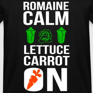 Vegan - Funny Vegan Shirt Romaine Calm Lettuce C - Men's Tall T-Shirt