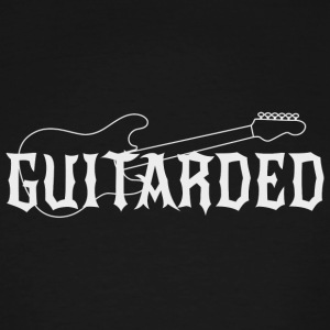 Guitar - Guitarded - Men's Tall T-Shirt