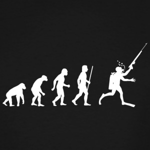 Spearfishing - Evolution of Spearfishing - Men's Tall T-Shirt