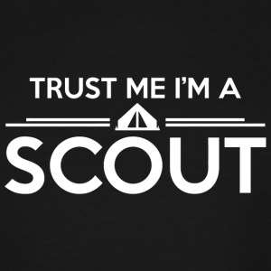 Scout - Trust me I'm a scout - Men's Tall T-Shirt