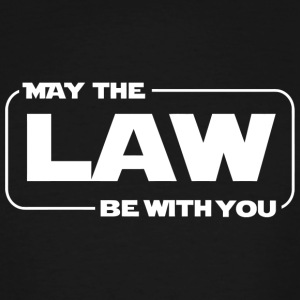 Law enforcement - May The Law Be With You Funny - Men's Tall T-Shirt