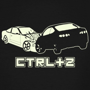 Crash - CTRL Z - Men's Tall T-Shirt