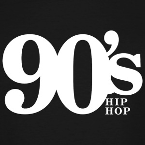 Hip Hop - 90's Old School Hip Hop Throwback Vin - Men's Tall T-Shirt