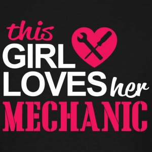 Mechanic - this girl loves her mechanic - Men's Tall T-Shirt