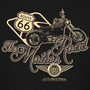 Motorcycle - Route 66 the mother road - Men's Tall T-Shirt
