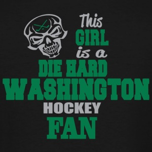 WASHINGTON THIS GIRL IS A DIE HARD WASHINGTON - Men's Tall T-Shirt