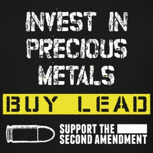 Metal - invest in precious metals buy lead suppo - Men's Tall T-Shirt