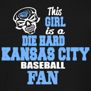 KANSAS CITY THIS GIRL IS A DIE HARD KANSAS CIT - Men's Tall T-Shirt