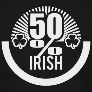 Irish - 50 % irish - Men's Tall T-Shirt